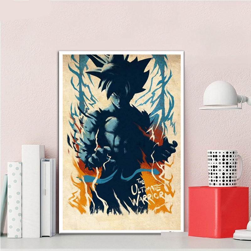 Posters And Prints Dragon Ball Anime One Piece Poster Decorative Canvas Painting Wall Art Picture Living Room Home