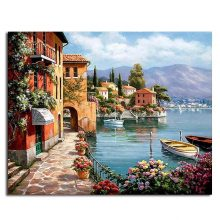 Framed Pictures Painting By Numbers Home Living Room Digital Canvas Oil Gx6917 4050cm