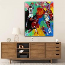 Embelish Michael Jordan By Large Wall Posters Living Room Home Hd Canvas Painting Bedroom Artwork Picture