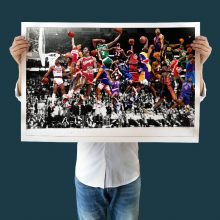 Modern Art Canvas Dunk All Time Wall Paintings Basketball Star Poster Prints Painting No Frame