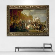 Louis David Army In The De To Oil Painting Prints On Canvas Wall Pictures Home
