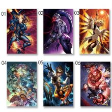 Game Artwork Poster Wall Art Silk Prints Pictures Room Home Decoration